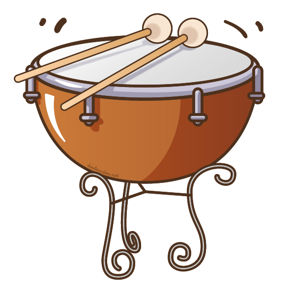 """Ilustración instrumento musical """"timbal"""", recursos musicales, educación musical"""
