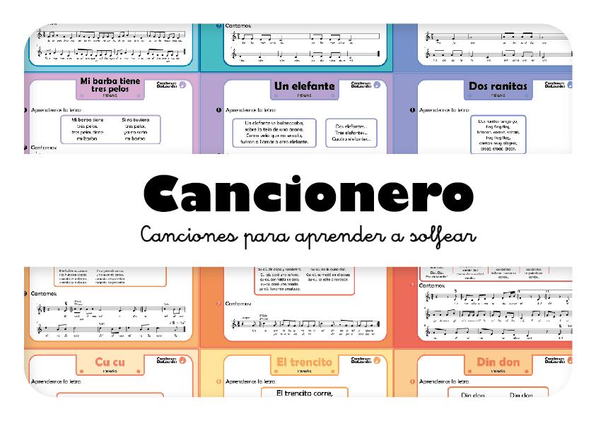 Cancionero DosLourdes, canciones populares infantiles de España
